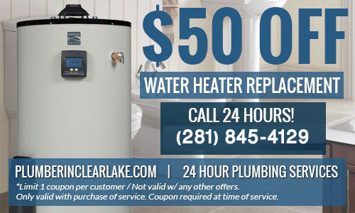 Plumbing Coupons In Clear Lake 24 Hour Plumbing Amp Water